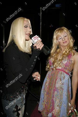 Chad Michaels as Cher and Venus Delight as Paris Hilton