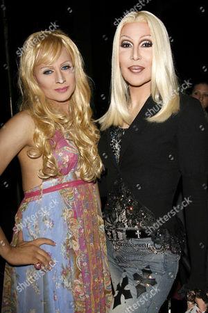 Venus Delight as Paris Hilton and Chad Michaels as Cher
