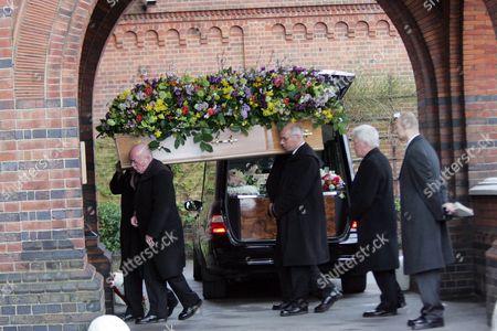 John Inman coffin