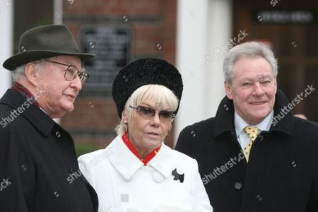 Frank Thornton, Wendy Richard and Trevor Bannister