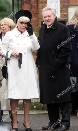 Wendy Richard and Trevor Bannister