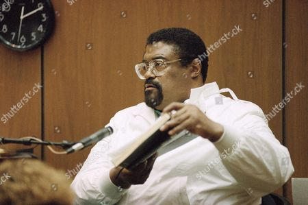 Rosey Grier Former pro football player and minister Rosey Grier displays a Bible to the judge from the stand during an evidentiary hearing in the O.J. Simpson double murder trial in Los Angeles, . Attorneys clashed during hearing regarding jailhouse discussions between Simpson and Grier partially heard by sheriff's deputies on Friday in afternoon. Grier maintains the discussions should remain confidential as he was serving as Simpson's minister