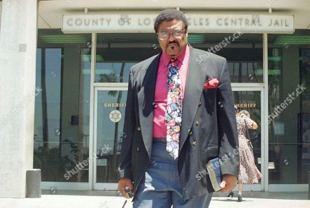 Rosey Grier Roosevelt Grier, former football player, leaves the Los Angeles County Jail after visiting with O.J. Simpson, . Grier is longtime friend of Simpson and came to the jail to give his support