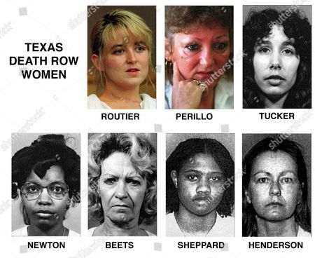 HENDERSON FILE--Texas has seven women currently on death row at the Mountain View Unit of the Texas Department of Criminal Justice, in Gatesville, Texas. The list includes names and when they arrived at the facilities following their sentencing: Darlie Routier, scheduled to arrive ; Pamela Lynn Perillo, arrived Sept. 4, 1980; Karla Faye Tucker, arrived Dec. 18, 1984; Betty Lou Beets, arrived Oct. 14, 1985; Frances Elaine Newton, arrived Nov. 17, 1988; Erica Yvonne Sheppard, arrived April 26, 1995; and Cathy Lynn Henderson, arrived June 1, 1995
