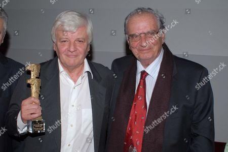 Jacques Perrin and Vasilis Vasilikos