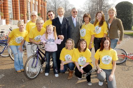 Center Parcs Pedal with the Parcs Launch for Sparks. The official announcement of Pedal with the Parcs, a national cycling event, to raise hundreds of thousands of pounds for two chosen charities Sparks and The National Byway. Suzanne Shaw, Babs and Robert Powell, Princess Michael of Kent, Jimmy Hill, Lynda Bellingham, Amanda Holden, Tamara Beckwith, Denise Welch, Lisa Rogers, Fay Ripley and Linzi Stoppard