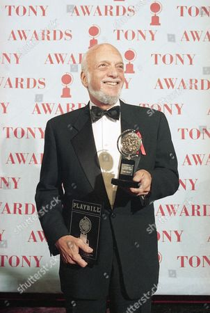 """Hal Prince, Harold Prince Harold Prince holds his Tony award for best director in a musical for """"Show Boat,""""at Broadway's Minskoff Theater in New York. Prince, 87, the most decorated Tony Award-winner in history, directs """"Prince of Broadway,"""" which takes audiences through his numerous award-winning productions. The show features a 10-person cast that perform snippets from many of the shows that have earned Prince a record 21 Tonys, including """"Cabaret,"""" """"Evita,"""" """"Phantom of the Opera,"""" """"Kiss of the Spider Woman"""" and """"Sweeney Todd."""" It has received a sold-out reception in Japan and Prince hopes it will soon grace a Broadway stage"""