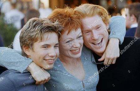 Jonathan Taylor Thomas, Frances Fisher, Zack Ward Actors Jonathan Taylor Thomas, left, Frances Fisher, center, and Zack Ward, three of the stars of the new film ?Wild America,? pose together at the premiere of the film on in the Westwood section of Los Angeles