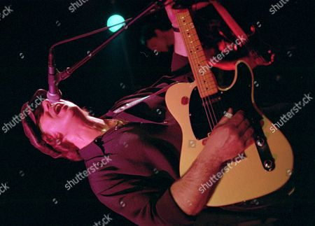 """DION DIMUCCI Dion Dimucci, lead singer for the Little Kings, performs at New York's Mercury Lounge. Dimucci, a 57-year-old Rock and Roll Hall of Fame inductee, popularized """"Runaround Sue"""" and other rock hits three decades ago as Dion"""