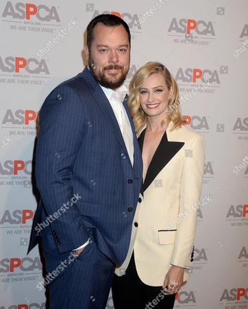 Beth Behrs and husband Michael Gladis