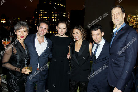 Sharon Chang, Marc H. Simon, Daisy Ridley, Stacey Reiss, Jeremy Chilnick, Pierre Takal (Film Editor)