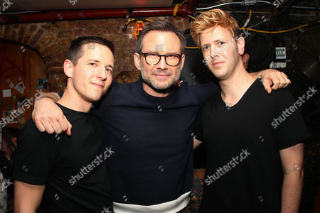 Justin Kelly (Director), Christian Slater and Scott Levenson (Producer)