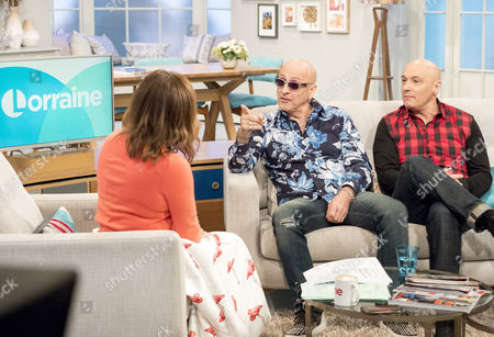 Lorraine Kelly with Right Said Fred - Richard Fairbrass and Rob Manzoli