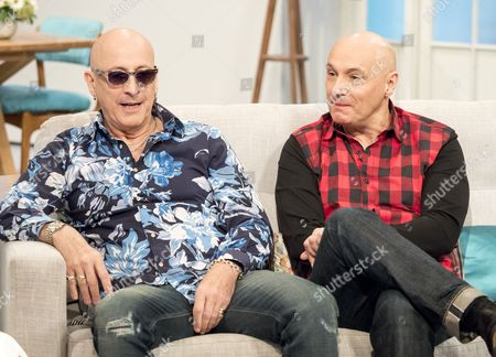 Stock Picture of Right Said Fred - Richard Fairbrass and Rob Manzoli