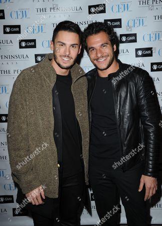 Baptiste Giabiconi and Amir Haddad