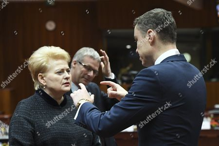 Dalia Grybauskaite, Taavi Roivas