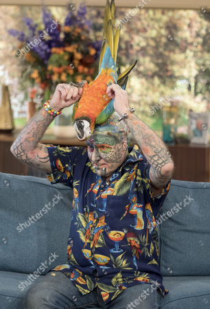 Ted Parrot Man Richards