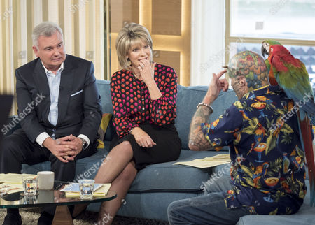 Editorial image of 'This Morning' TV show, London, UK - 21 Oct 2016