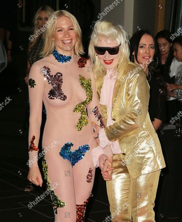 Pam Hogg and Tuuli Shipster