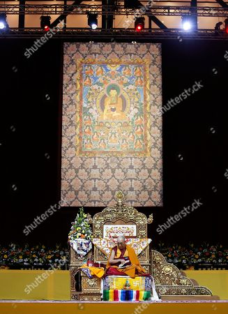 Tenzin Gyatso The Dalai Lama Tenzin Gyatso delivers his message as he attends a fair, in Milan, Italy, . The Dalai Lama received honorary citizenship from the city of Milan