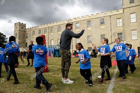 Editorial photo of Britain Giants Football, London, United Kingdom - 21 Oct 2016