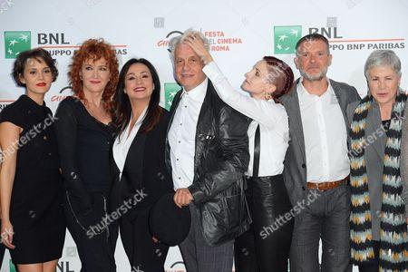 Erika D'Ambrosio, Fiorella Mannoia, Maria Nazionale, Michele Placido, Federica Vincenti, Stefano Massini, Ottavia Piccolo