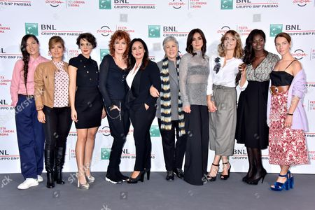 Editorial photo of 'Seven Minutes' photocall, Rome Film Festival, Italy - 21 Oct 2016
