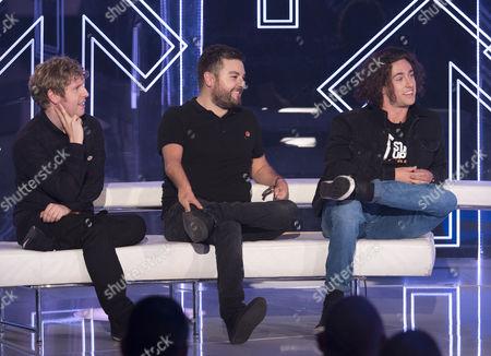 Josh Widdicombe, Alex Brooker, Liam Malone