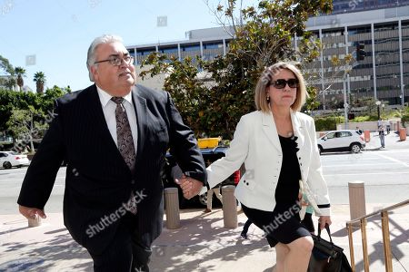 Ron Calderon, Ana Calderon Former state Sen. Ron Calderon and his wife Ana arrive for his sentencing on bribery charges at federal court in Los Angeles . Charged in a corruption scandal that could have sent him to prison for three lifetimes, Calderon dropped his entrapment defense, pleaded guilty and admitted taking bribes in exchange for his influence in Sacramento
