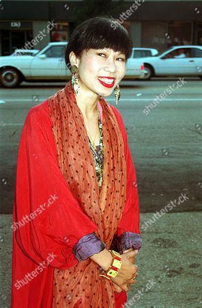 Tan Author Amy Tan poses at an unknown location in Aug. 1993