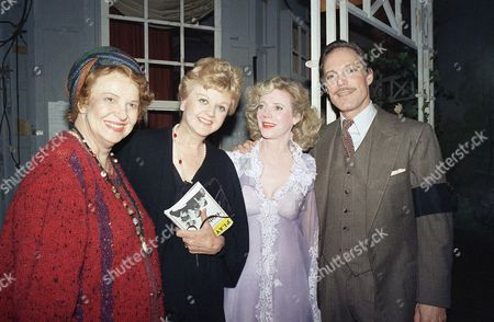 Editorial picture of Angela Lansbury and Cast of Blithe Spirit, New York, USA