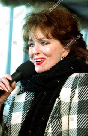Music stage and film legend Ann Blyth rehearses at New York's Rainbows and Stars, for her month-long engagement in a Broadway musical tribute, on