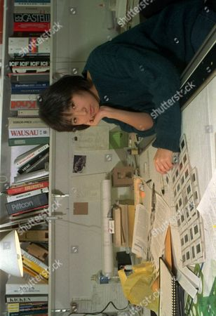LIN Maya Lin, a 28-year-old architect, pauses in her New York office during work on a 125-year-old mansion renovation