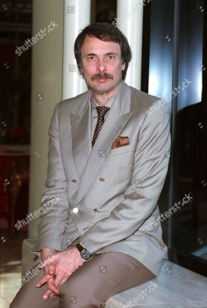 Stock Image of Kopit Playwright Arthur Kopit poses during an interview in Los Angeles, Ca., Jan. 1990