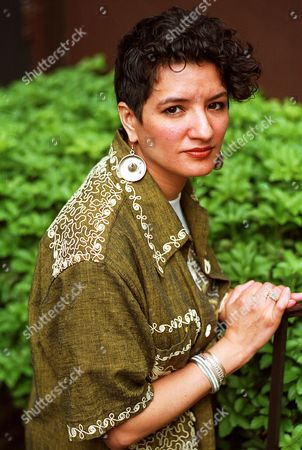 """Cisneros Sandra Cisneros poses after an interview in New York City in June, 1991. Cisneros is the author of the recently published book, """"Woman Hollering Creek"""