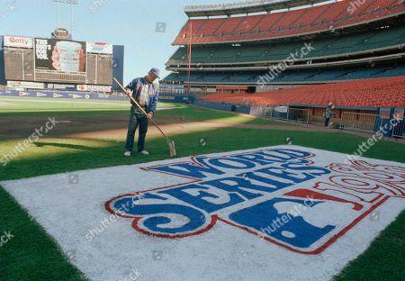 Editorial picture of Baseball Games World Series 1986 Boston vs New York Prep., New York, USA