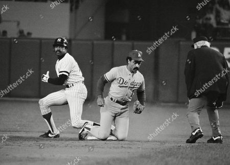 Editorial photo of Baseball World Series 1981, New York, USA
