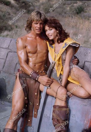 "Stock Picture of Tanya Roberts, Victoria Leigh Blum, Marc Singer Tanya Roberts and Marc Singer star in the new film ""Beastmaster,"" in Los Angeles. Singer plays the title role as Dar with supernatural abilities to talk with animals. During the course of the prehistoric adventure he rescues Ms. Roberts from the clutches of an evil priest"