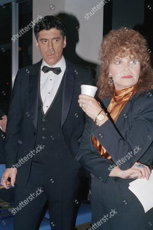 Actress Eileen Brennan and actor Elliott Gould are shown at the 50th anniversary of the Screen Actors Guild