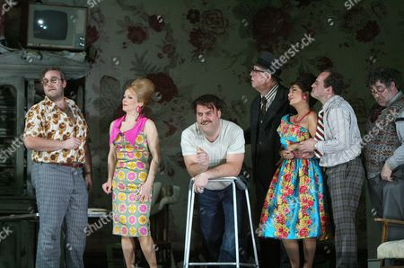 Gianni Schicchi at the Royal Opera House, featuring Bryn Terfel (in middle)