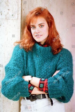 Stock Image of CATHERINE MARY STEWART Actress Catherine Mary Stewart poses in Los Angeles, Calif., on