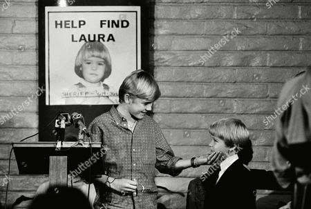 Ricky Schroeder, Travis Bradbury Child star Ricky Schroeder thanks Travis Bradbury, brother of missing Laura Ann Bradbury, for the first ?Laura Ann Bradbury Missing Children?s Awareness Bracelet,? on in Costa Mesa, California. The bracelets are to be sold to raise money to aid in the search for Laura and other missing children. The Adam Walsh Children?s Resource Center is launching this is a national campaign modeled after the M.I.A. bracelets distributed during the Vietnam War