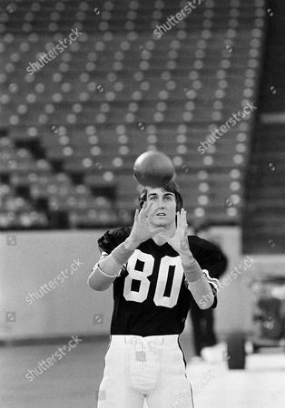Chris Collinsworth Chris Collinsworth, wide receiver for the Cincinnati Bengals, practices his pass catching during the teams workout at the Silverdome in Pontiac, Mich