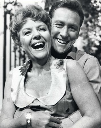 Noele Gordon and Vincent Ball in 'Crossroads' - 1964