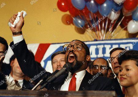 Editorial photo of Cleveland Mayor-Elect White, Cleveland, USA