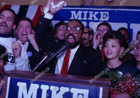 Michael White, Mike White, Tamara White With his wife Tamara, right, at his side, Mike White celebrates his victory in the Cleveland mayor's race, . White, an Ohio state senator and former Cleveland city councilman, defeated George Forbes