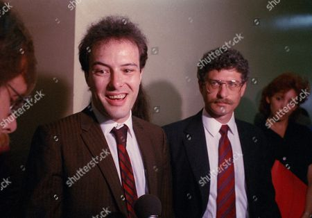 Jello Biafra, Eric Reed Boucher Jello Biafra, lead singer of the Dead Kennedys, talks to reporters in Los Angeles, Calif., after arraignment for him and four others charged with misdemeanor pornography for including a sexually explicit poster in a record album was delayed so defense attorney could plot strategy. Biafra's real name is Eric Boucher. Man at right is unidentified
