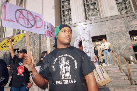 Editorial picture of Dems Riots U.S. Los Angeles R.King Verdict Reaction, Los Angeles, USA