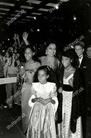 Editorial image of DIANA ROSS FAMILY, NEW YORK, USA