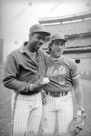Dwight Gooden, Gary Carter New York Mets pitcher Dwight Gooden, left, poses with catcher Gary Carter during a workout at Shea Stadium in New York, . The pair will team up on the standing lineup for the season opener on Tuesday at Shea Stadium. Carter was traded in the off season to the Mets from Montreal